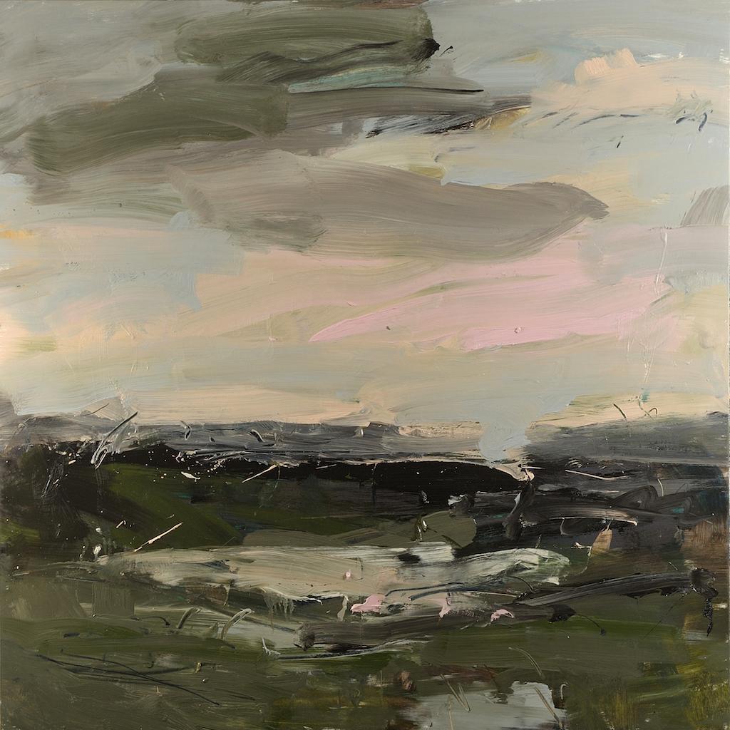 Louise Balaam 'Mudflats, pink sky'