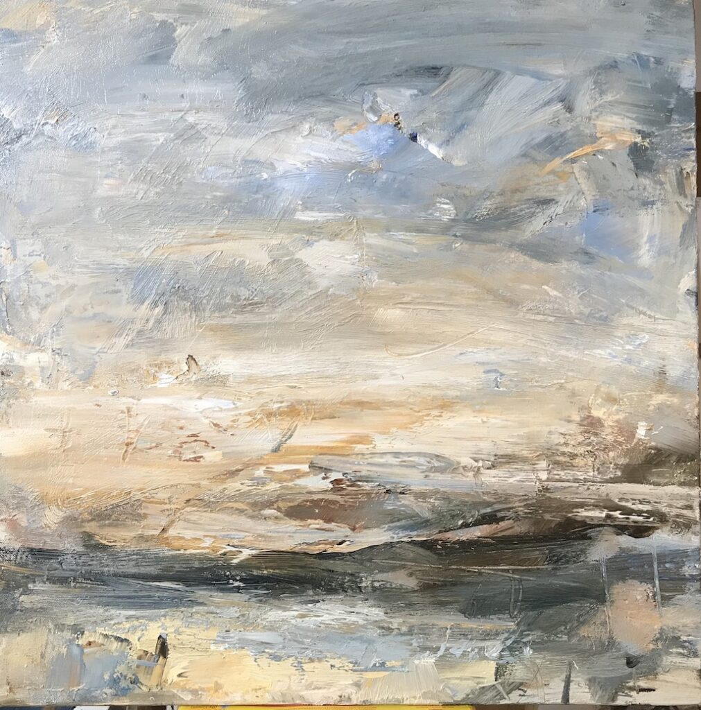 Louise Balaam 'Blue and gold, Mull'