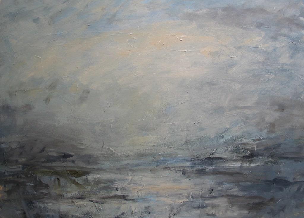 Louise Balaam 'Early mist, pale water'