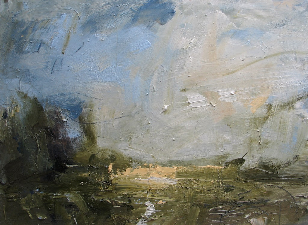 'Hindleap, pure blue sky' by Louise Balaam