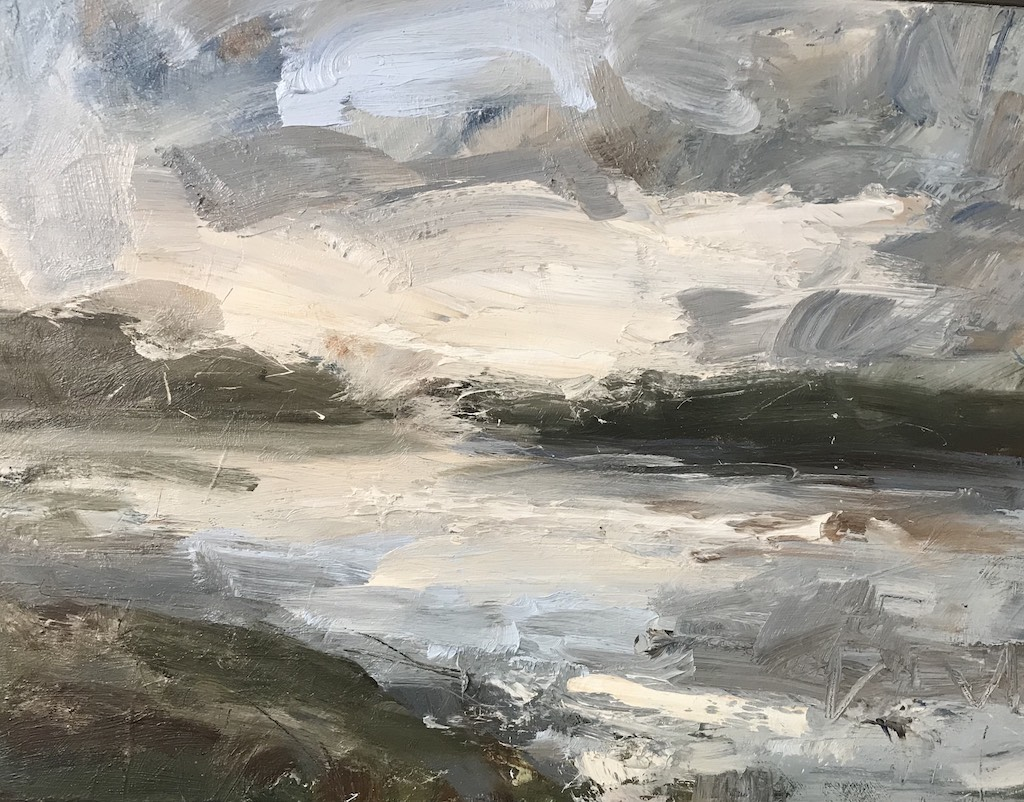 Louise Balaam 'Loch, sky reflected'