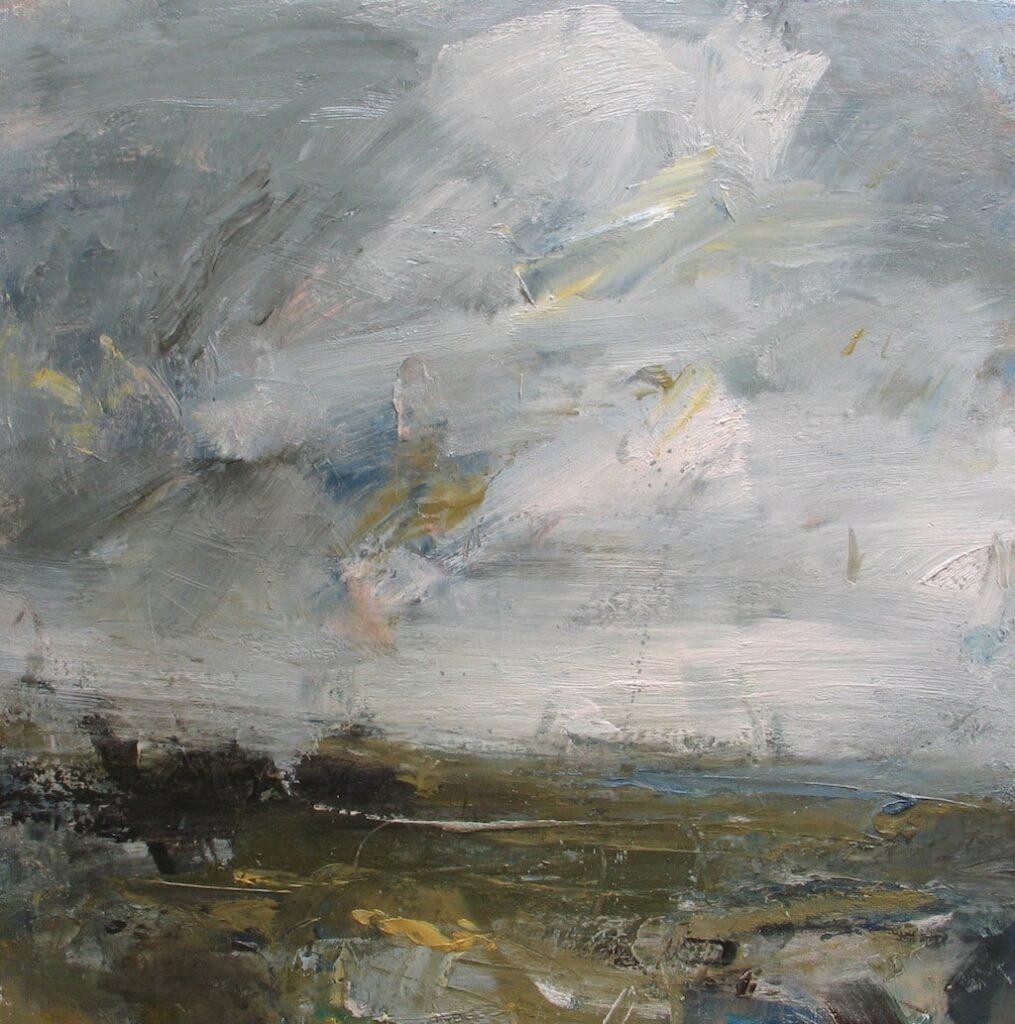 Louise Balaam 'Wind rising, rain in the air'